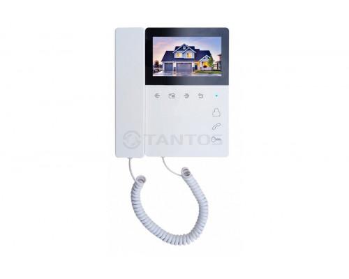 Монитор видеодомофона цветной с кнопочным управлением и трубкой Elly