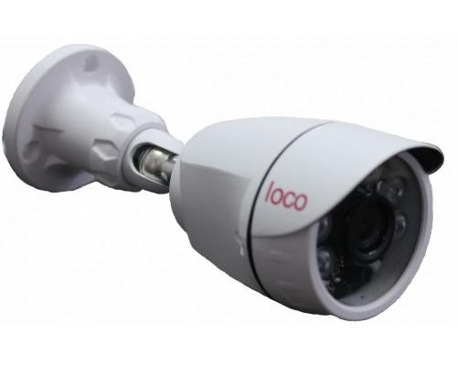 Цилиндрическая уличная камера Loco IP S2 POE