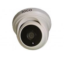 Купольная универсальная камера Loco AHD D2M 2.8 5 в 1