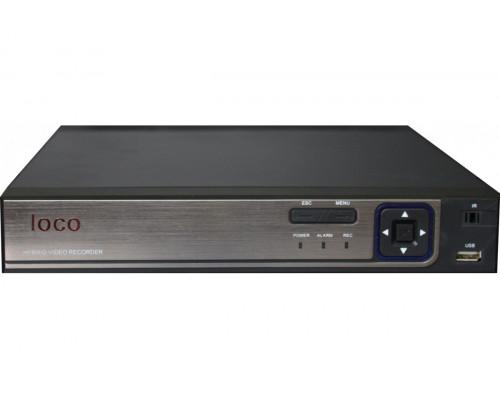 8-ми канальный видеорегистратор Loco AHDR 08