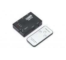 3 in x 1 out HDMI переключатель с пультом ИК.