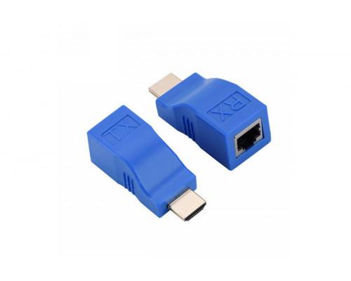 HDMI удлинитель по UTP на 30 метров 8 pin